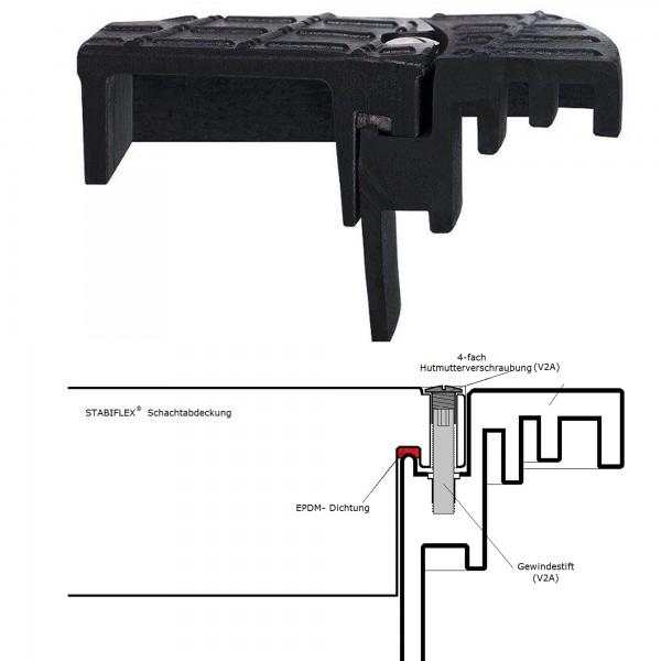 Tagwasserdichtung Schachtdeckel DN 600